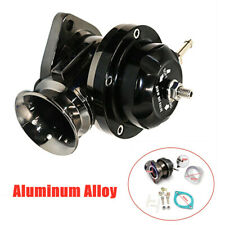 Aluminum Alloy Universal Motors Pressure Relief Valve Turbocharging Valve Black