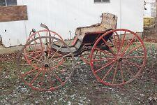 Horse Drawn Phaeton Carriage Wagon Buggy Sleigh Cart Antique