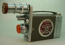 Bell & Howell 16mm Movie Camera with Wollensak Raptar C Mount & Super Comat Lens