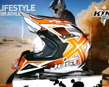 Just 1 j12 MiSterX Cross casco enduro quad nuevo KTM SX-F SX airoh aviator carbon XL