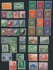 Germany **96 DIFFERENT (1919-1940)**; MH & USED; ALL SOUND: CV $120