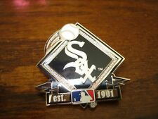 White Sox Diamond Shape Pin
