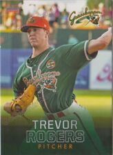2018 Greensboro Grasshoppers Trevor Rogers RC Rookie Miami Marlins