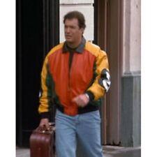 8 Ball Seinfeld Puddy Patrick Warburton Bomber Leather Jacket - BNWT
