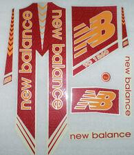 2017 model Brand new cricket bat stickers Red & Orange