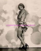 BEAUTIFUL 1920s SILENT FILMS ACTRESS DOROTHY JANIS LEGGY 8x10 PHOTO A-DJK