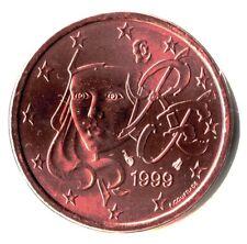France 1999 5 centimes d'euro FDC BU Scellée provenant d'un coffret.