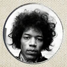 Jimi Hendrix Patch Picture Embroidered Border Rock Blues Gibson Guitar Player