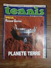 Revue TENNIS MAGAZINE 2005 No 351 Juin SPECIAL ROLAND GARROS COMPLET + POSTER