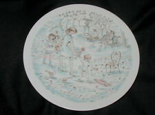 1975 Haviland French Limoges Collector'S Plate, Mother'S Day, The Park