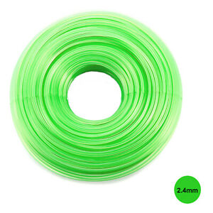 HEAVY DUTY STRIMMER LINE 2.4mm X 15M  FOR PETROL STRIMMERS STRIMMER WIRE CORD