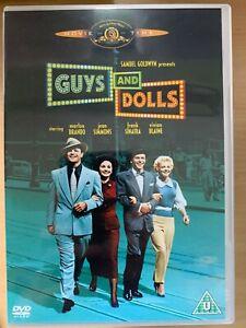 Guys and Dolls DVD 1955 Musical Movie Classic w/ Marlon Brando + Frank Sinatra