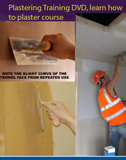 Plastering DVD Learn how to plaster course - training 2 dvd set double 098