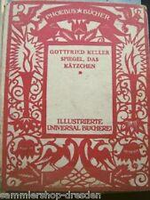 MA84 Keller Gottfried Spiegel, das Kätzchen Ein Märchen Bilder