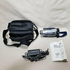 VTG Sony Video Camera Recorder Digital 8 HandyCam DCR-TRV530 Case Manual Tested