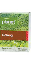 Planet Organic Herbal Tea Oolong 25 Satchels/tea Bags