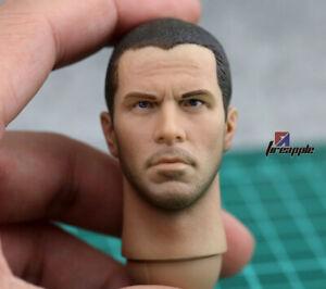 1/6 John Connor Head Sculpt Christian Bale Male Head Fit 12'' Man Figure Body