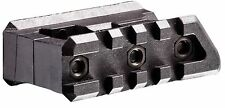 FSM15P-S CAA Tactical Polymer 2 Picatinny Rails,Side by Side Mount Front Sight