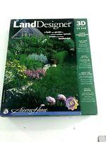 Land Designer 3D Version 4.0 (CD-ROM, 1996, Computer Software)
