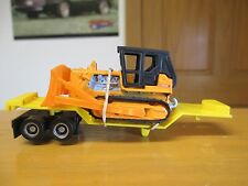 Tyco US 1 custom drop deck with bulldozer ho slot
