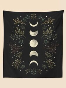 Moon Print Tapestry Wall Hanging 130*150cm UK Seller *FREE FAST POST* Brand New