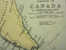 Antique North American Maps & Atlases Quebec