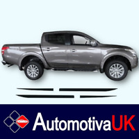 Mitsubishi L200 Rubbing Strips   Door Protectors  Side Protection Mouldings Kit