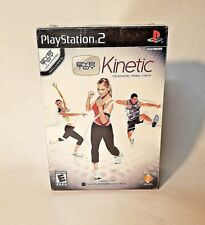 PS2 Eye Toy: Kinetic The Personal Trainer Exercise Nike Motionworks Game