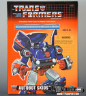 Transformers Reissue Commemorative Series Skids G1 Vintage For Sale