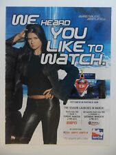 2005 Print Ad The 2005 Indy Car Racing Series ~ Danica Patrick Like to Watch