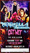 KREWELLA Get Wet Ltd Ed Discontinued RARE Poster +FREE Dance/Electronic Poster!
