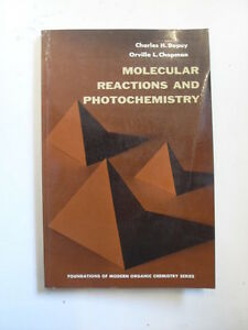 DEPUY H.C.  CHAPMAN O.L.  MOLECULAR REACTIONS AND PHOTOCHEMISTRY 1972