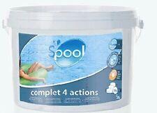 5 kg pastiglie Multiazione da 200 gr Spool 4 azioni trattamento acqua piscina