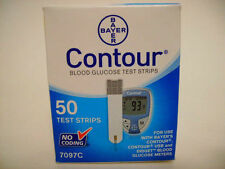 Bayer Contour Blood Glucose 50 Test Strips (Week Special) Exp 5/30/2018