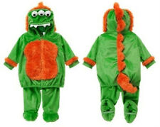 NWT GYMBOREE 3 - 6 month Halloween   3 Eyed Green Monster 2 Pc Plush Costume