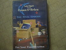 "LATE NIGHT CONAN O'BRIEN EMMY DVD ""FINALE EP"" THE WHITE STRIPES WILL FERRELL 09"
