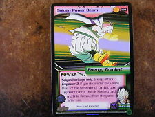 Saiyan Power Beam PROMO GOLD FOIL Dragonball CCG