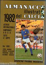 ALMANACCO ILLUSTRATO DEL CALCIO 1982=PANINI MODENA=abcd=coppe=Italia