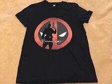 American Apparel Marvel Deadpool Women's T Shirt Size XL