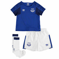 Umbro Everton Home Infant Kit 2017/18 Mens Gents Football Jersey Shorts Socks
