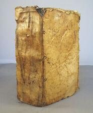 J.B GONET / CLYPEUS THEOLOGIAE THOMISTICAE CONTRA NOVOS... T7 / IN-18 VELIN 1664