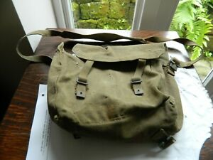 British Army 1937 Pattern Webbing Small Pack with Shoulder Strap
