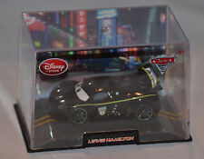 NEW! Disney Store PIXAR Cars 2 Lewis Hamilton Diecast Car (W/Case) Fast Shipping