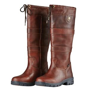 Dublin River Boots Waterproof Full Grain Leather Horse Riding Country Boot NEW