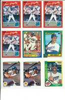 Lot of (55) Juan Gonzalez Cards w/ Rookies RC and Inserts MLB Texas Rangers