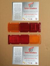 MK 1 Escort Saloon Rear Light Lenses 1 x pair, New NOT Genuine mexico RS Type 49