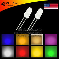 8Colors 800pcs 5mm Diffused LED Dides White Color Eight kinds of Light MIx Kits