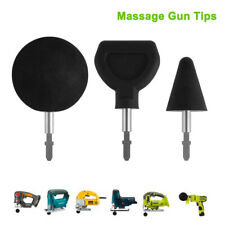 3x Percussion Massage Tips +1x Rod for Jigsaw Massager Adapter Attachment TH1366