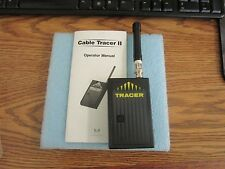 Microtest Model: Cable Tracer II with Manual.  Gently Used Stock <