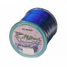 New Braid Fishing Line 100 LB 500M Mongrel Fishing Tackle Braid Blue RRP $35.00